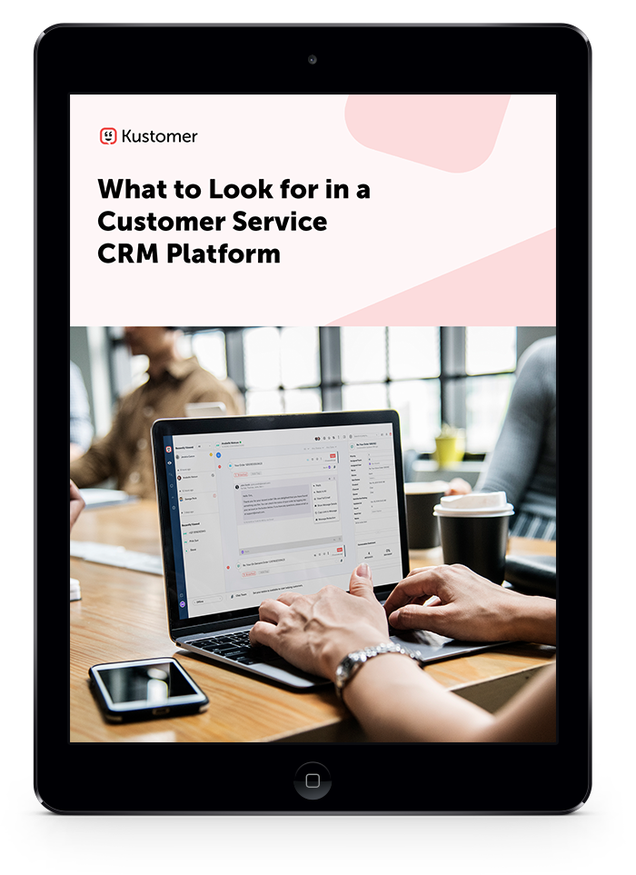The Buyer's Guide to Your Customer Service CRM Platform Embed