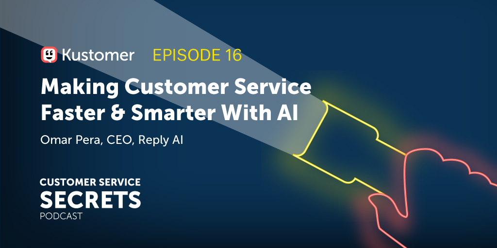 Making Customer Service Faster and Smarter With AI with Omar Pera TW