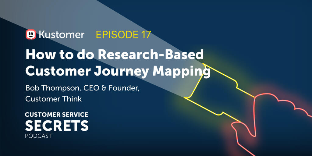 How to Do Research-Based Customer Journey Mapping with Bob Thompson from CustomerThink TW