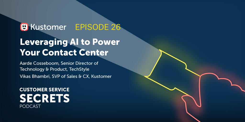 Leveraging AI to Power Your Contact Center With Aarde Cosseboom and Vikas Bhambri TW 2