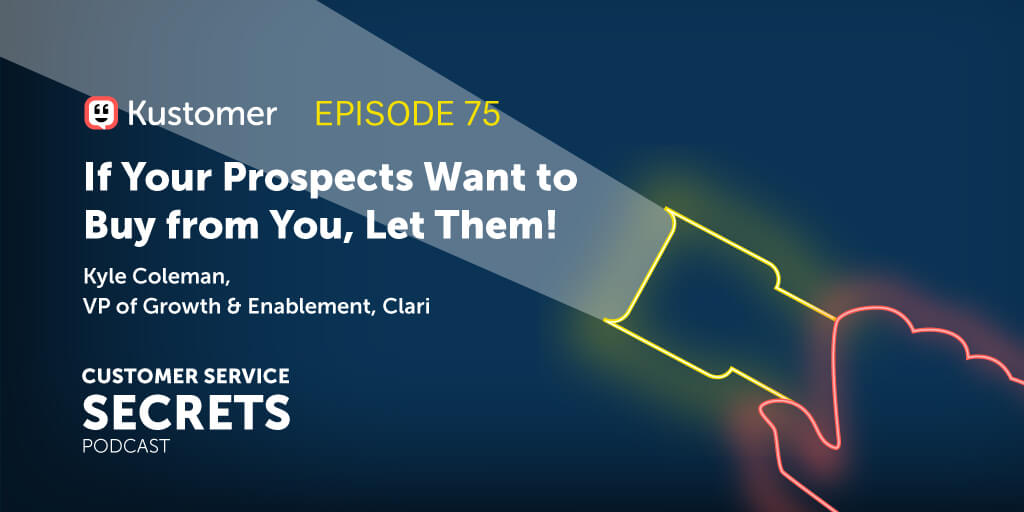 Selling to Prospects Using an Effortless Experience with Kyle Coleman TW
