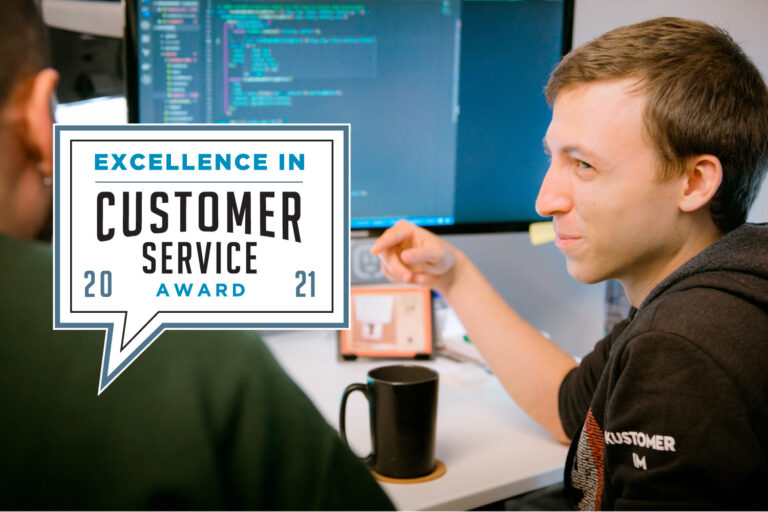 Kustomer Named a Winner in the 2021 Excellence in Customer Service Awards Featured