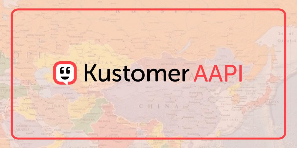 Announcing the Kustomer AAPI employee resource group (ERG) TW