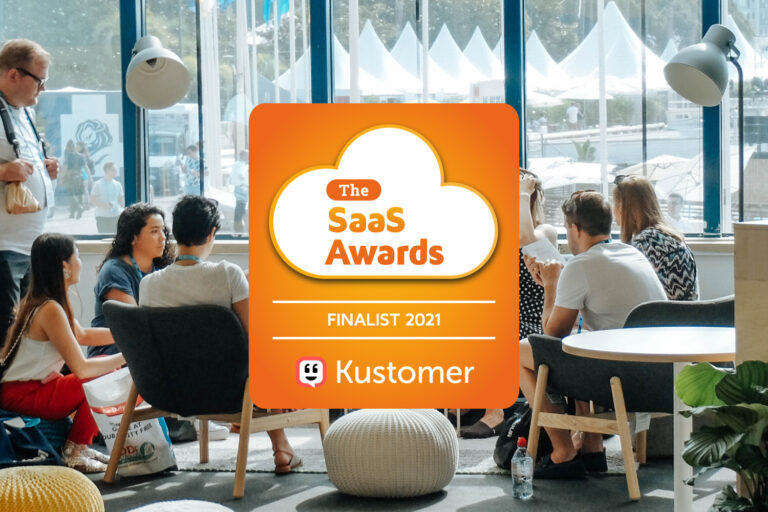 Kustomer Named as a Finalist in the 2021 SaaS Awards