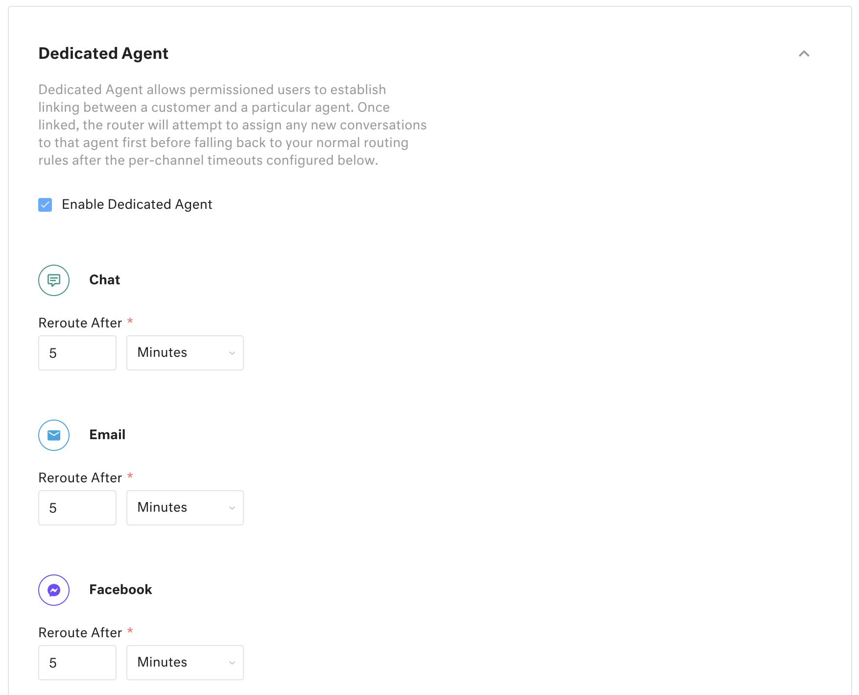 Dedicated Agent